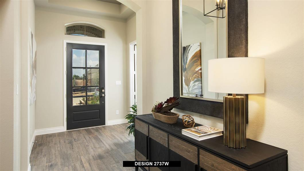Model Home Design 2737W Interior