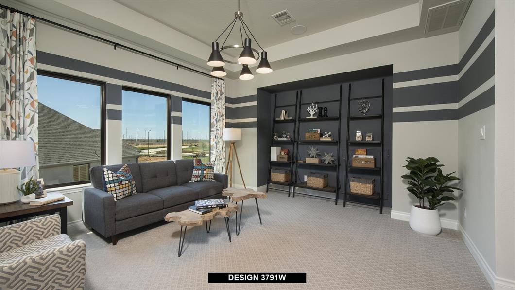 Model Home Design 3791W Interior