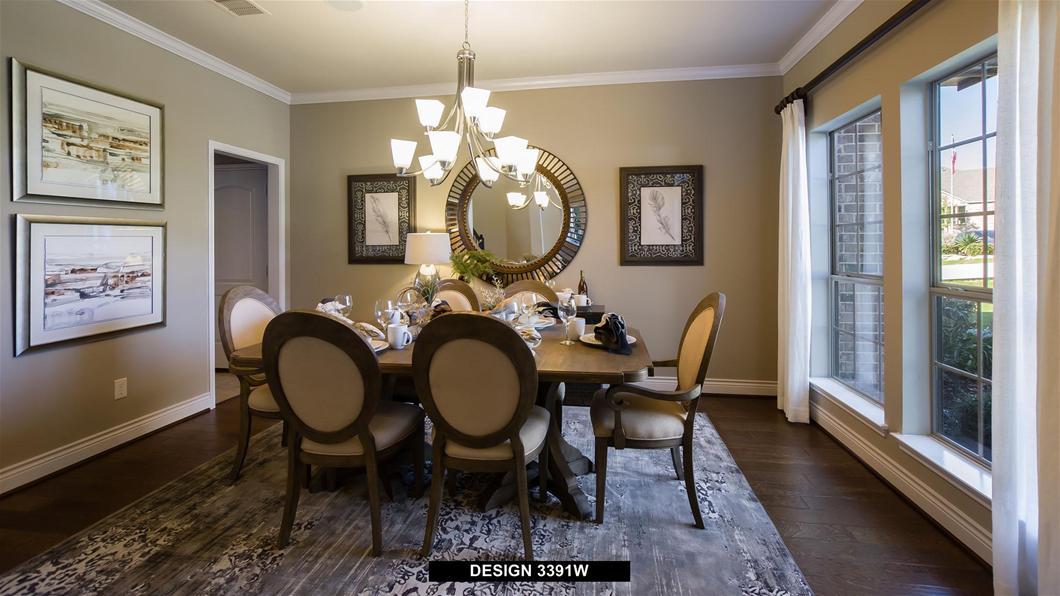 Model Home Design 3391W Interior