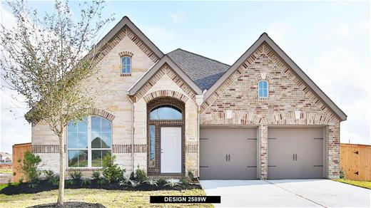 New Home Design, 2,589 sq. ft., 4 bed / 3.0 bath, 2-car garage