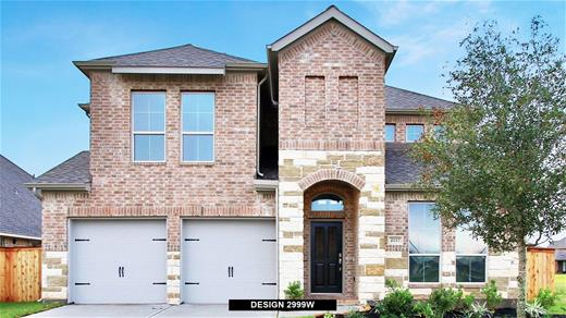 New Home Design, 3,048 sq. ft., 5 bed / 4.5 bath, 3-car garage