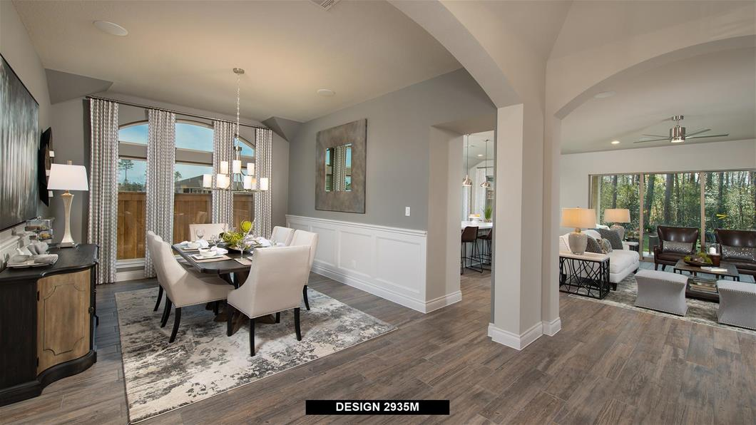 Model Home Design 2935M Interior