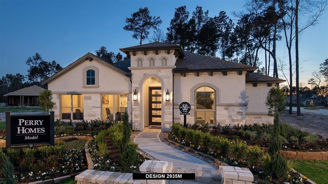 Model Home Design 2935M Exterior