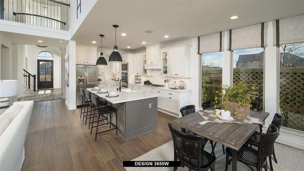 Model Home Design 3650W Interior