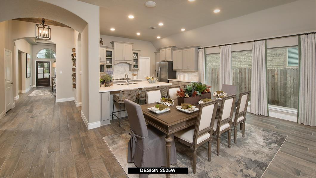 Model Home Design 2525W Interior