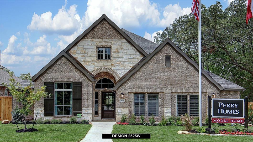 Model Home Design 2525W Exterior