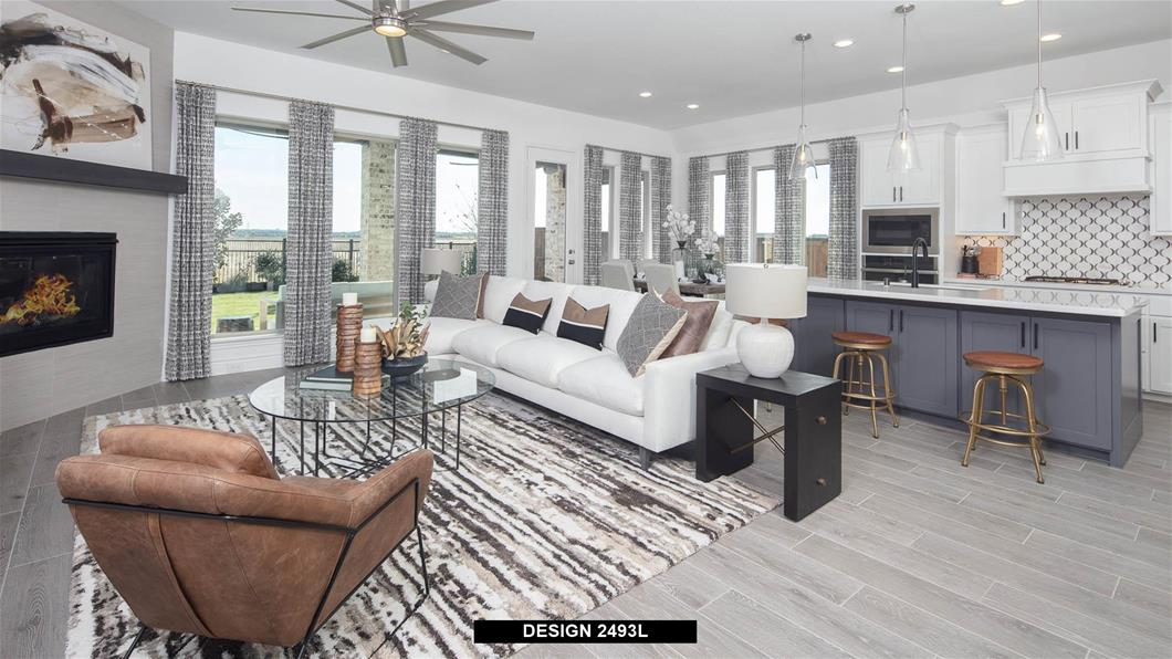 Model Home Design 2493L Interior