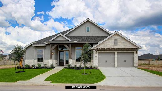 New Home Design, 3,435 sq. ft., 4 bed / 3.5 bath, 3-car garage