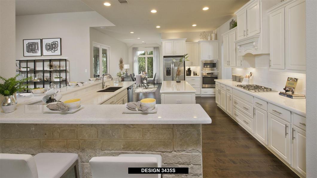 Model Home Design 3435S Interior