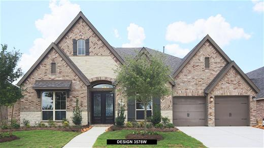 New Home Design, 3,578 sq. ft., 4 bed / 3.5 bath, 3-car garage