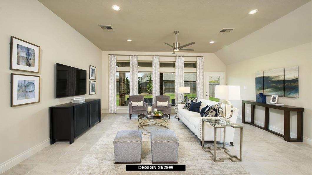 Model Home Design 2529W Interior