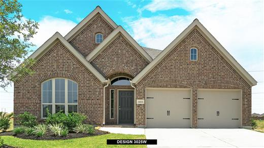 New Home Design, 3,025 sq. ft., 4 bed / 3.0 bath, 2-car garage