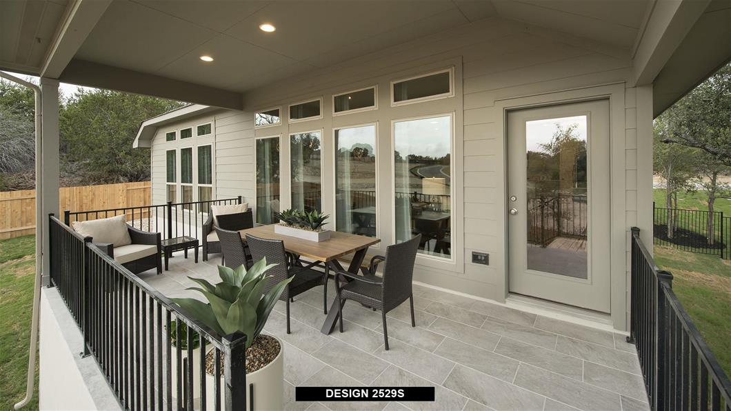 Model Home Design 2529S Interior