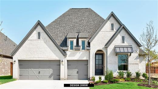 New Home Design, 2,895 sq. ft., 4 bed / 3.5 bath, 3-car garage