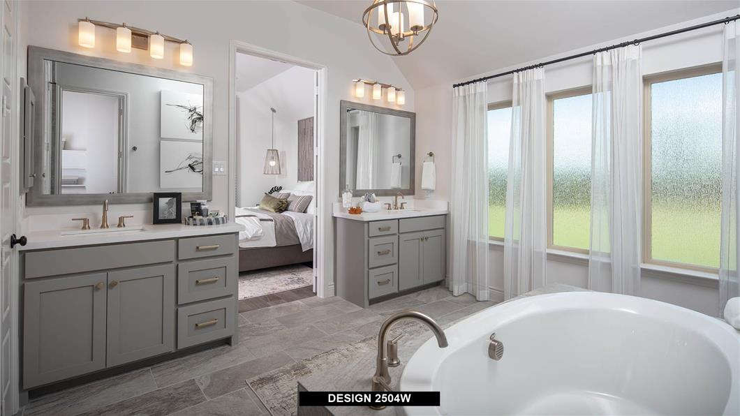 Model Home Design 2504W Interior