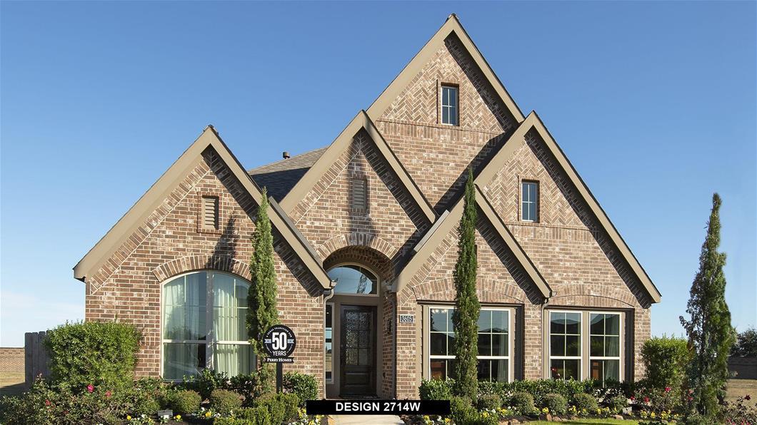 Model Home Design 2714W Exterior