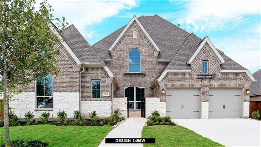 New Home Design, 3,758 sq. ft., 5 bed / 5.5 bath, 3-car garage