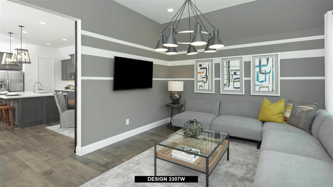 Model Home Design 3307W Interior