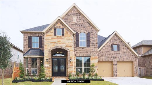 New Home Design, 3,640 sq. ft., 5 bed / 4.5 bath, 3-car garage