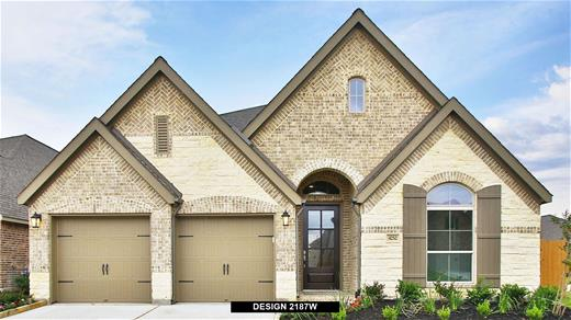 New Home Design, 2,187 sq. ft., 4 bed / 2.5 bath, 2-car garage