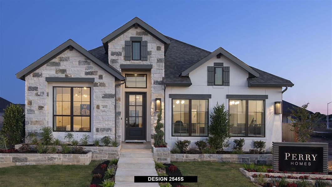 Model Home Design 2545S Exterior