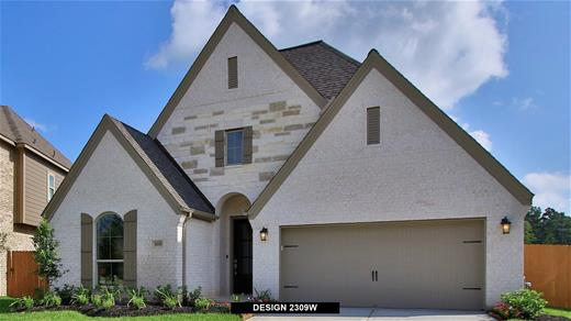 New Home Design, 2,309 sq. ft., 4 bed / 3.0 bath, 2-car garage
