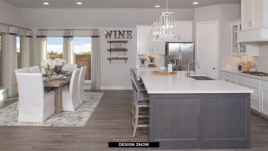 Model Home Design 2943W Interior