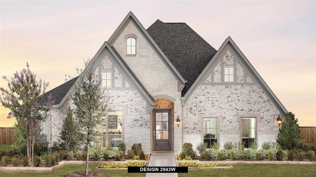 Model Home Design 2943W Exterior