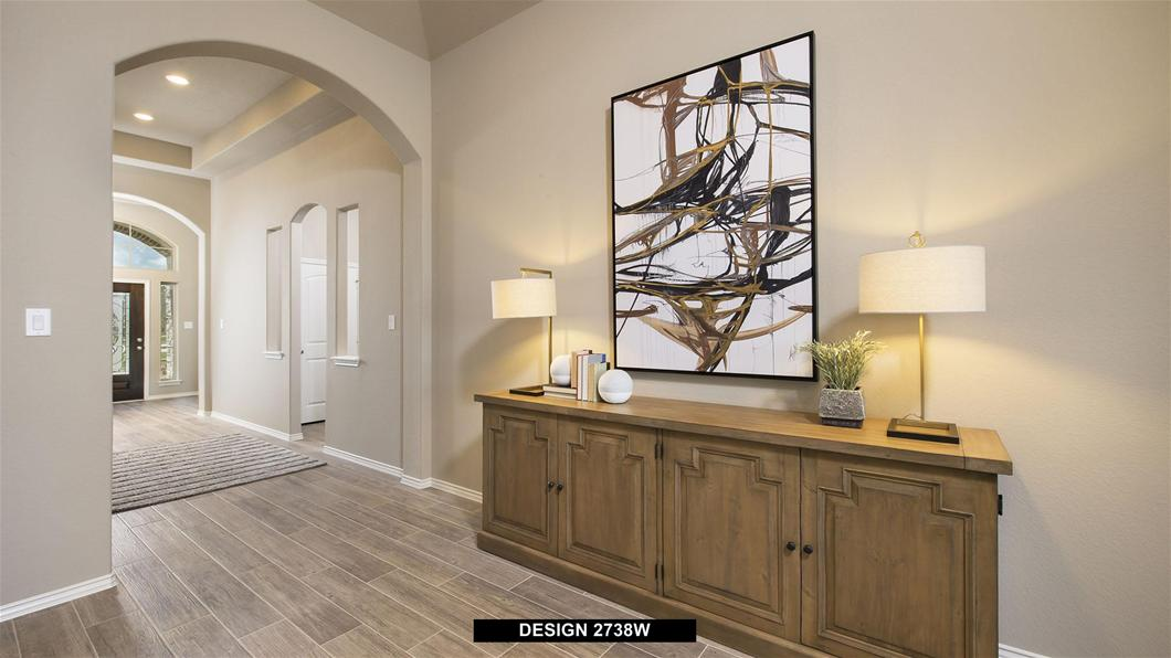Model Home Design 2738W Interior