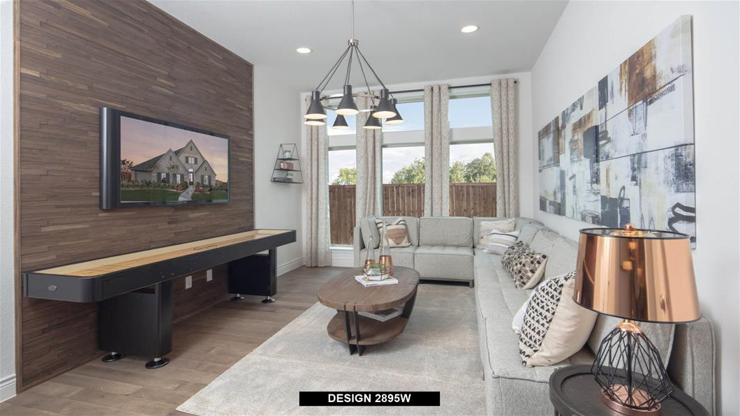 Model Home Design 2895W Interior