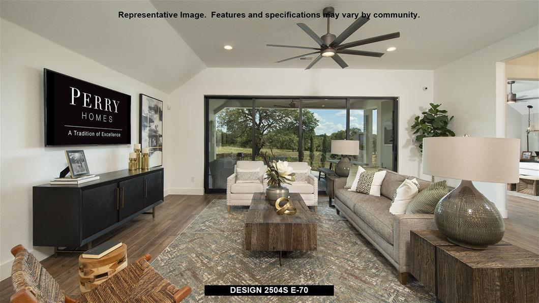 Model Home Design 2504S Interior