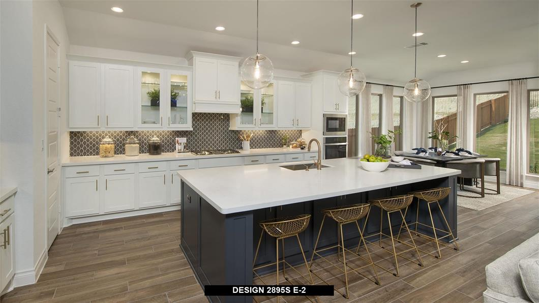 Model Home Design 2895S Interior