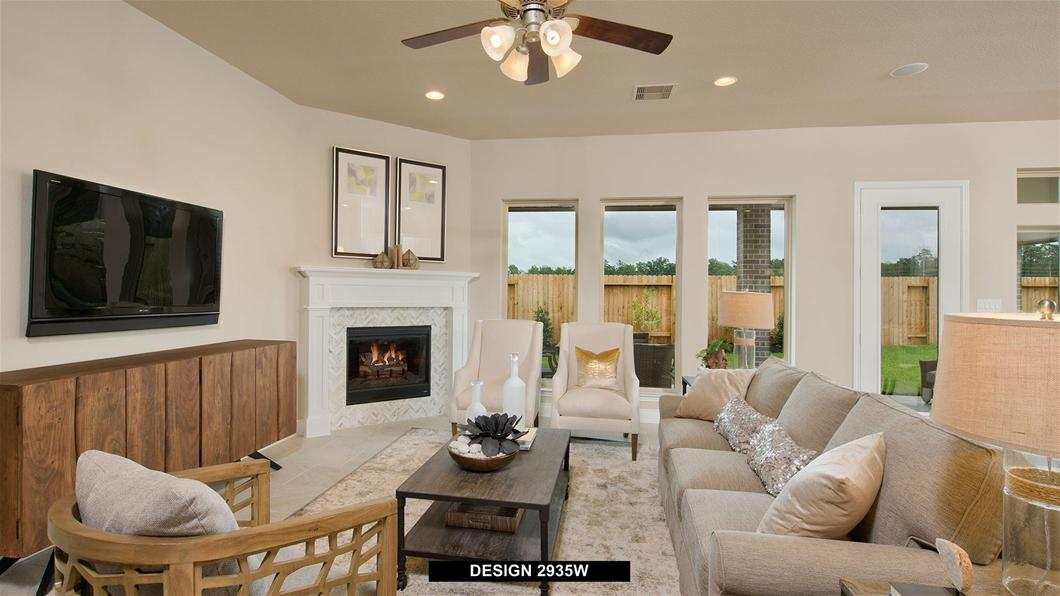 Model Home Design 2935W Interior