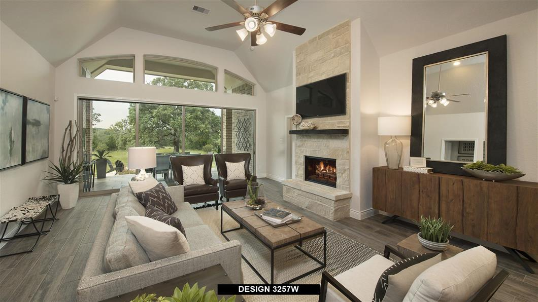 Model Home Design 3257W Interior