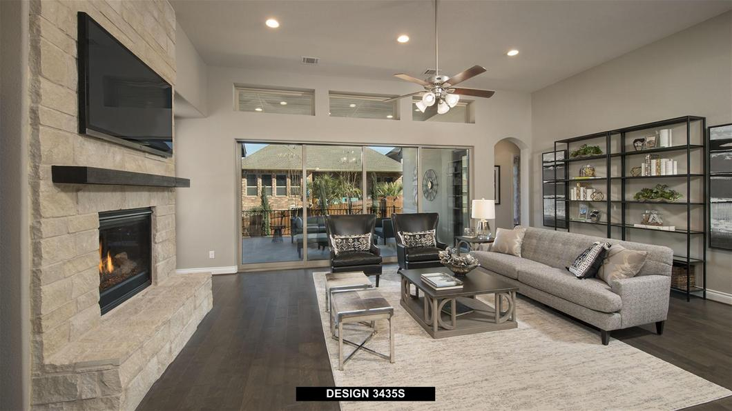 Model Home Design 3435S Interior