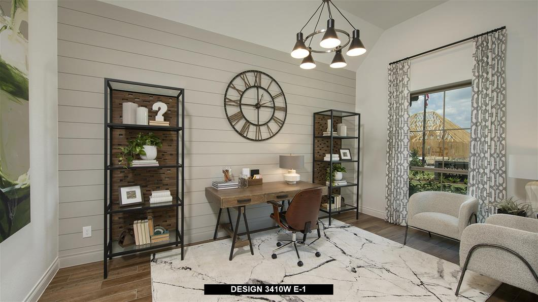 Model Home Design 3410W Interior