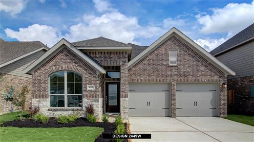 New Home Design, 2,449 sq. ft., 4 bed / 3.0 bath, 2-car garage