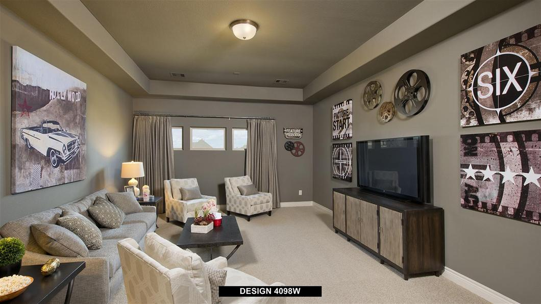 Model Home Design 4098W Interior