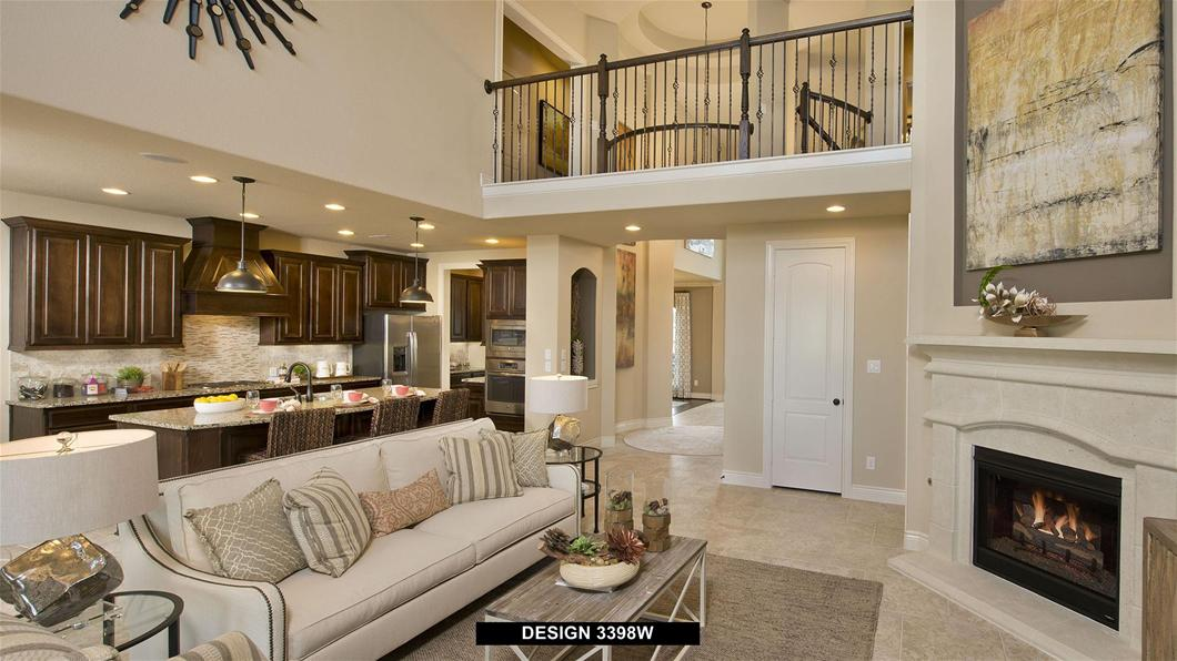 Model Home Design 3398W Interior