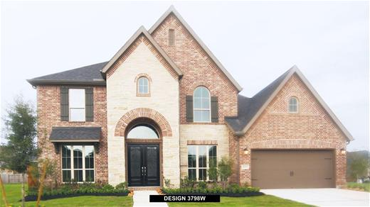 New Home Design, 3,798 sq. ft., 5 bed / 4.5 bath, 3-car garage