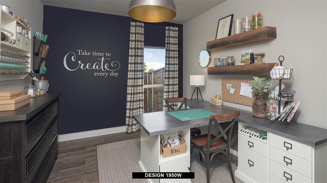 Model Home Design 1950W Interior