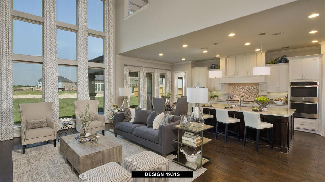 Model Home Design 4931S Interior