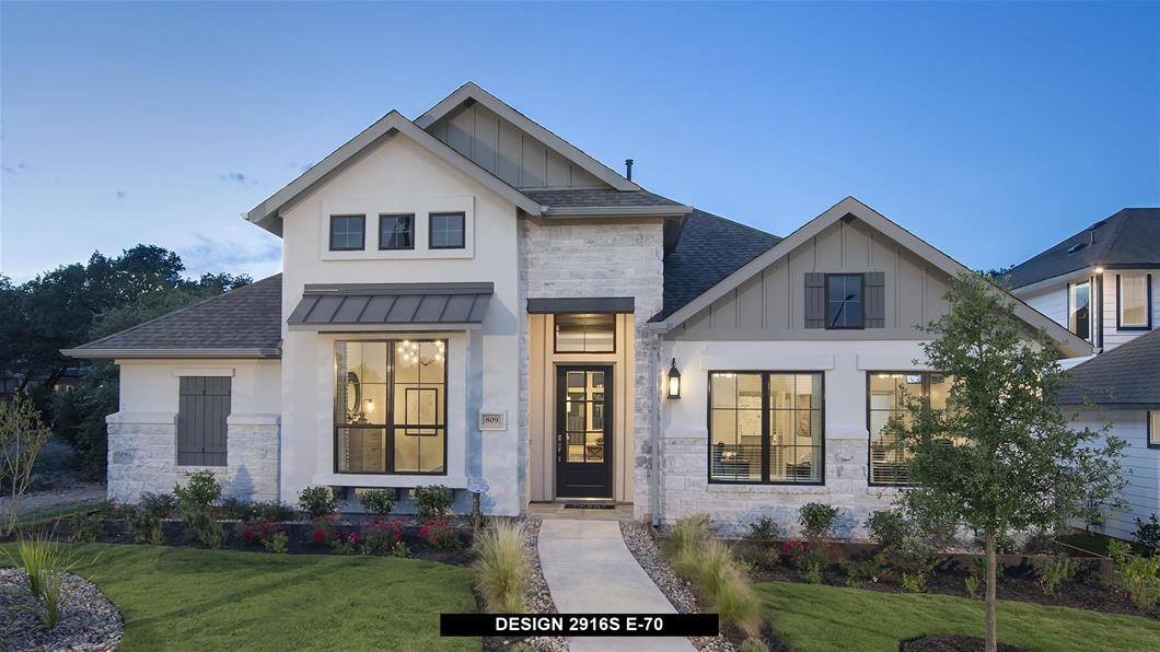 Model Home Design 2916S Exterior