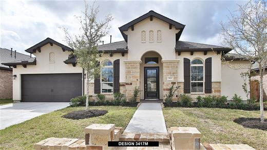 New Home Design, 3,417 sq. ft., 4 bed / 3.5 bath, 3-car garage