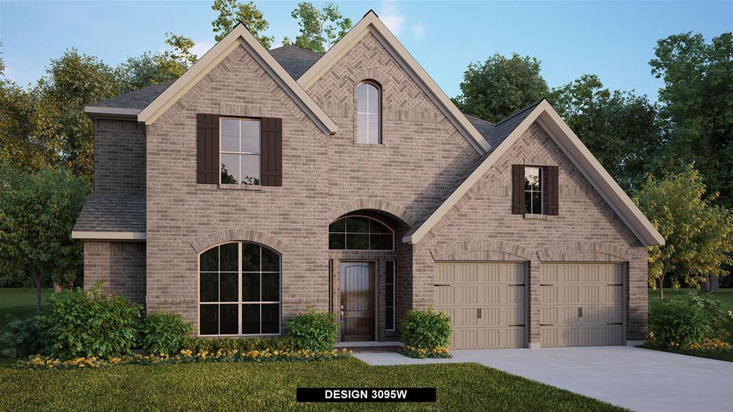 New Home Design, 3,121 sq. ft., 4 bed / 3.5 bath, 3-car garage