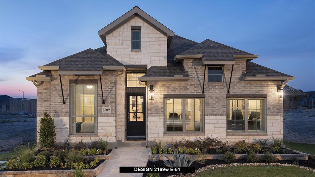 Model Home Design 2169W Exterior