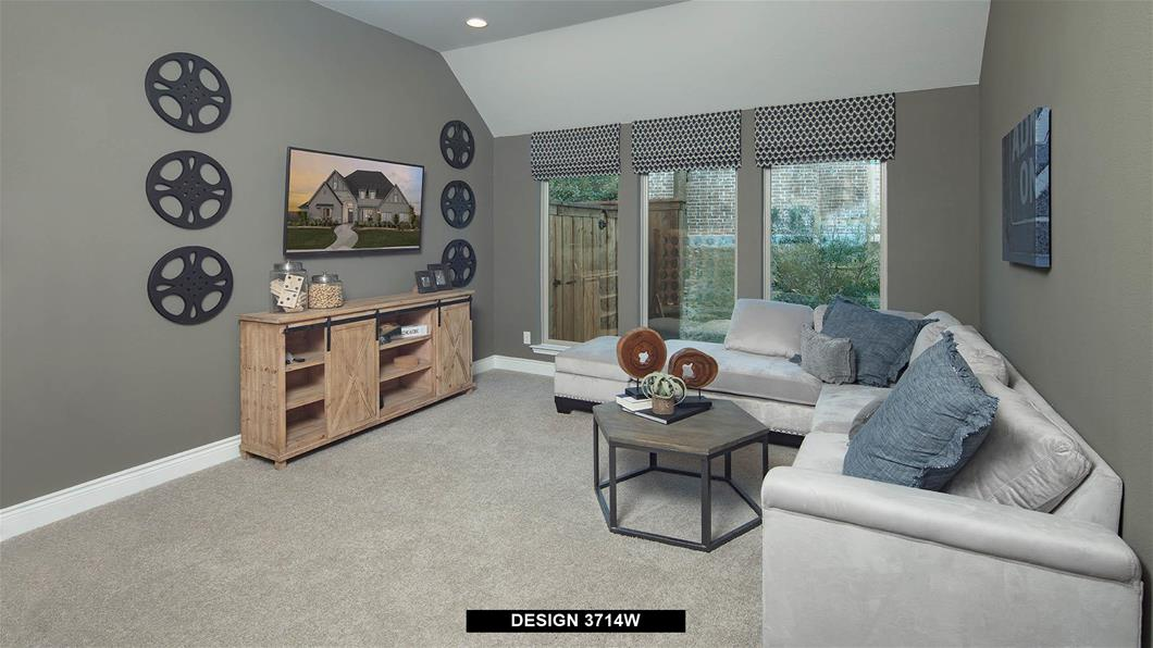 Model Home Design 3714W Interior