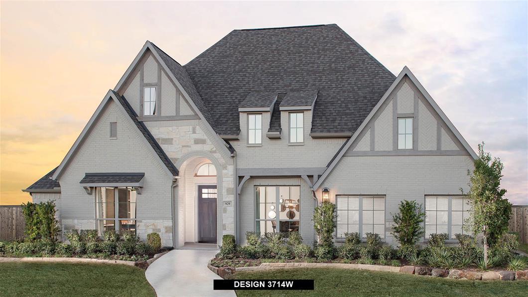 Model Home Design 3714W Exterior