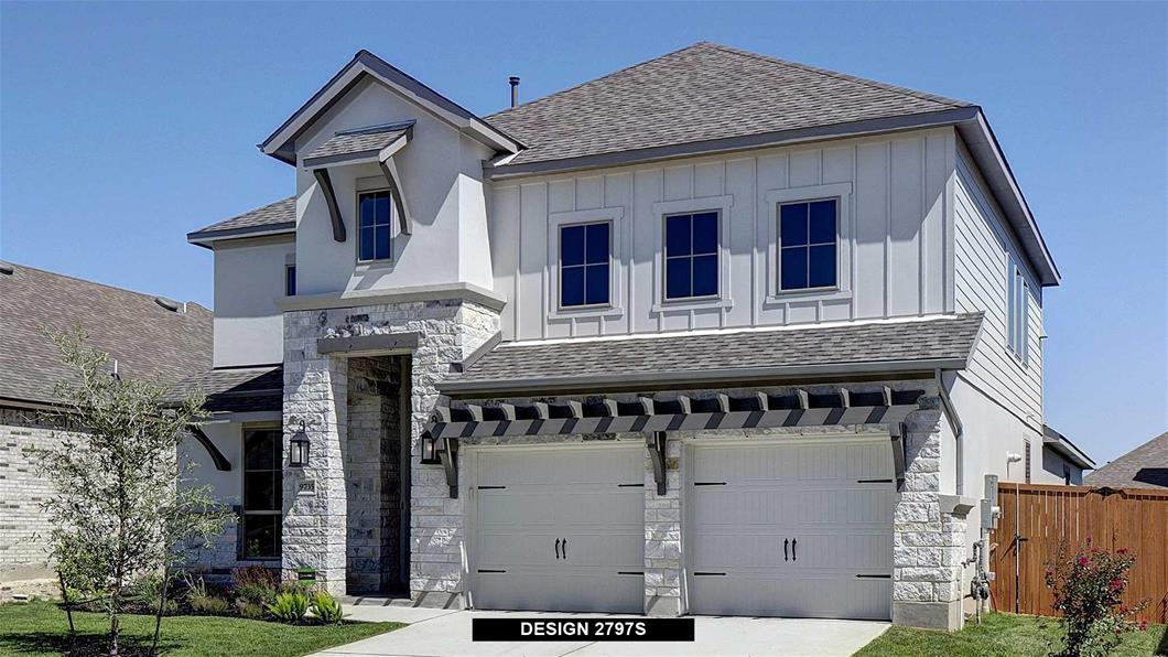 New Home Design, 2,797 sq. ft., 4 bed / 3.5 bath, 2-car garage