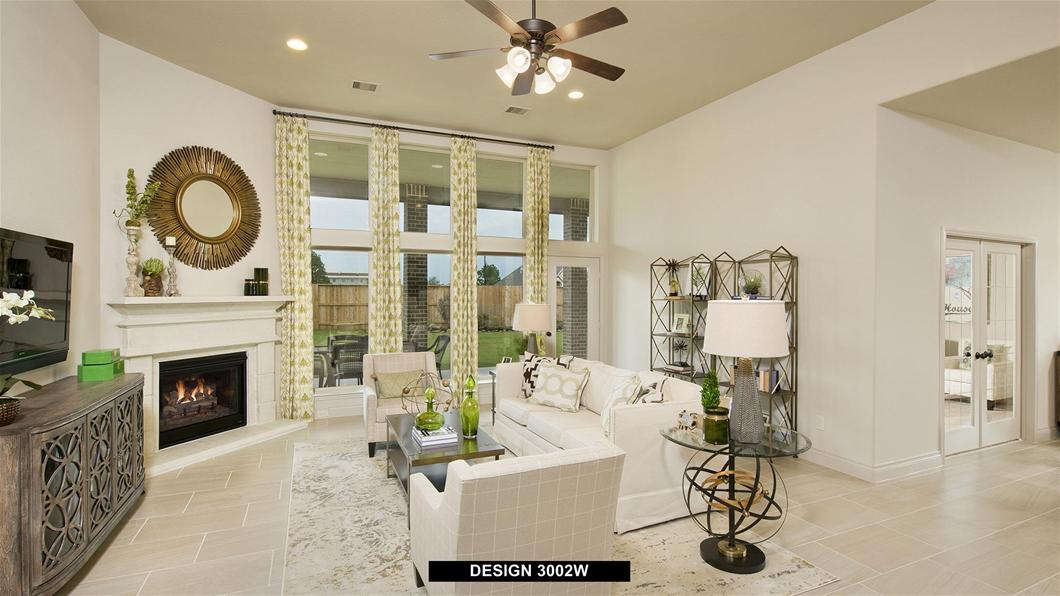 Model Home Design 3002W Interior
